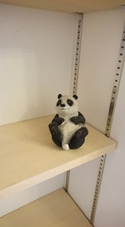 パンダの置物