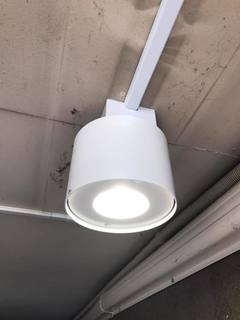 設置した照明