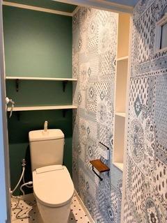 ファンシーなトイレ