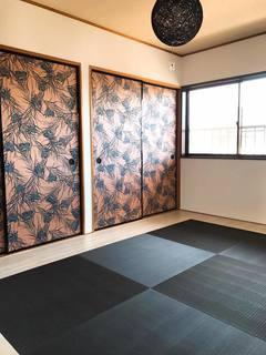 琉球畳風なCFがある部屋