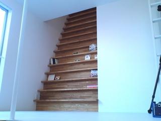 本棚(階段)