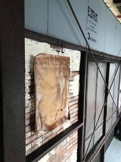 壁のオブジェ
