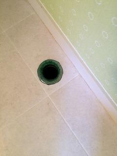 洗濯機の排水口