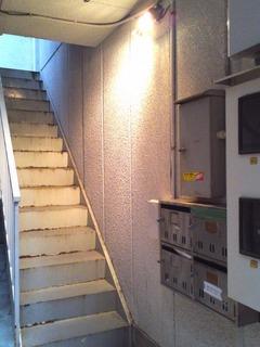 外階段ビフォー
