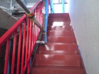 外階段アフター